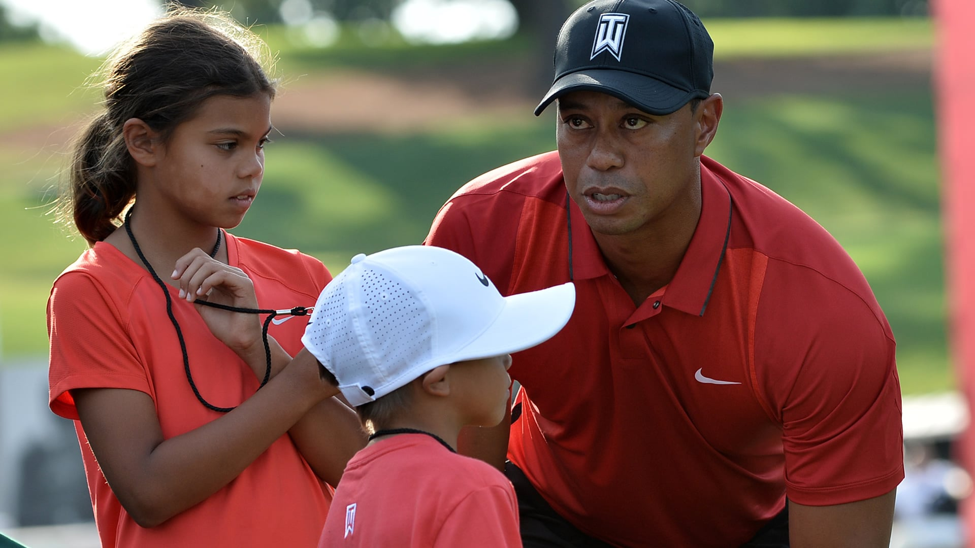 latest pictures of tiger woods children 2016 school