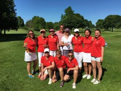 Unsere erfolgreiche Damenmannschaft!