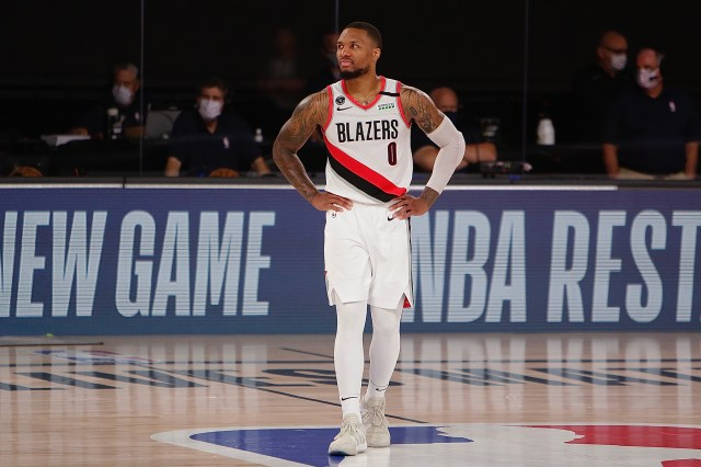 Damian Lillard has surpassed the English language's ability to describe him  (but let's try anyway)   This is the Loop   GolfDigest.com