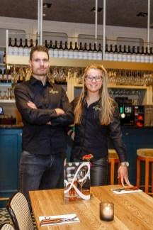 Wim van Steen en Kim Veldman