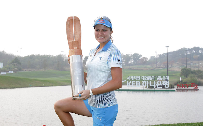 LPGA: Lexi Thompson in volata