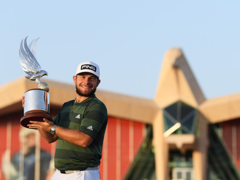 Abu Dhabi HSBC Champ: Tyrell Hatton re delle Rolex Series