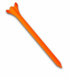 zero friction tour 3-prong golf tees best golf tees orange