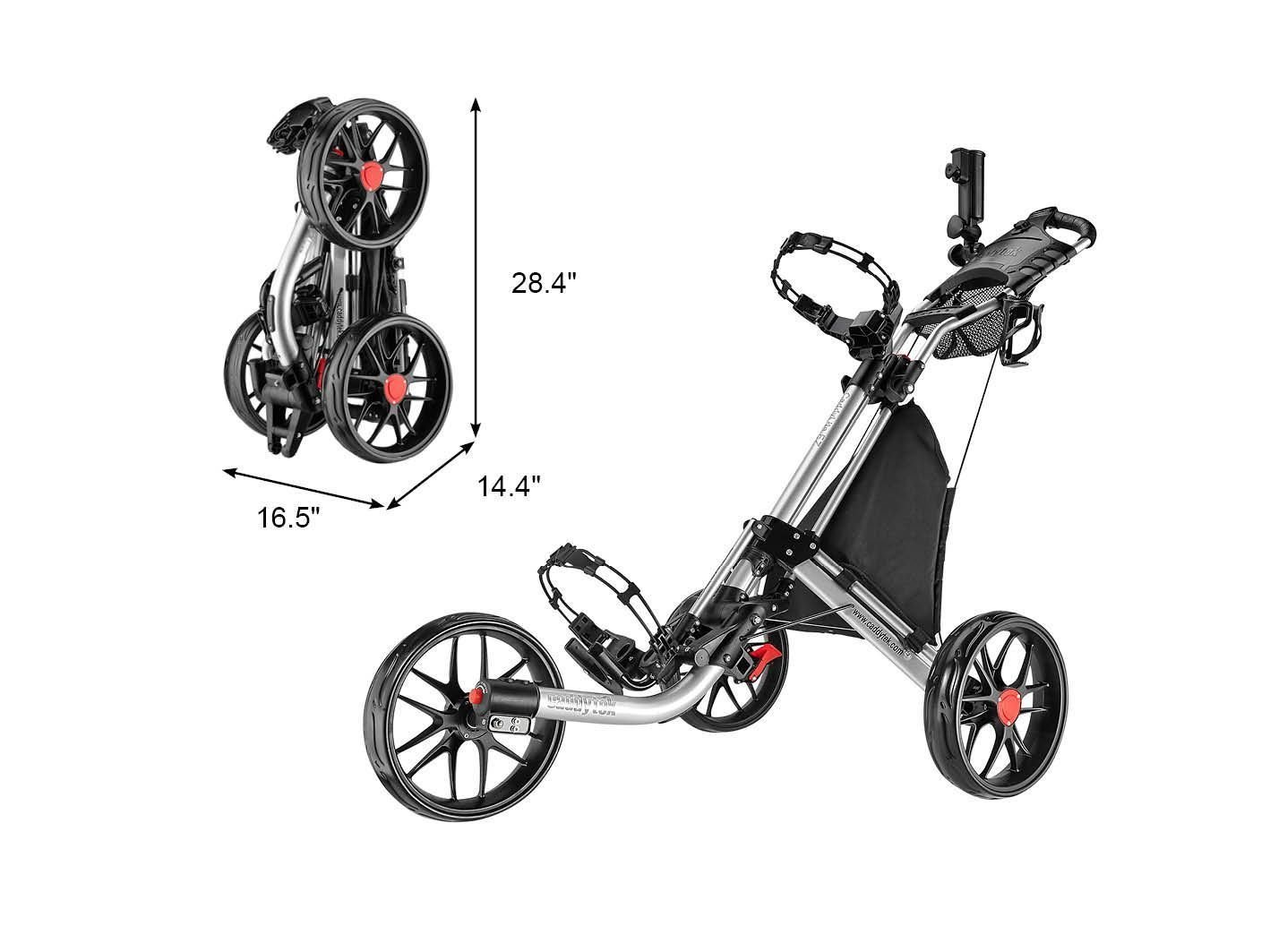 The Best Golf Push Cart Reviews 2018