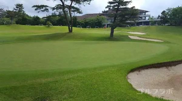 沼津ゴルフクラブの愛鷹9ホールのグリーン