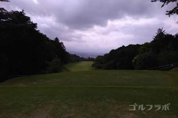 沼津ゴルフクラブの伊豆2ホールのティーグラウンド