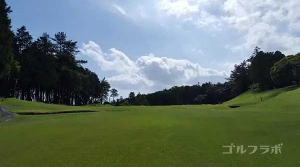 沼津ゴルフクラブの駿河3ホールの3打目