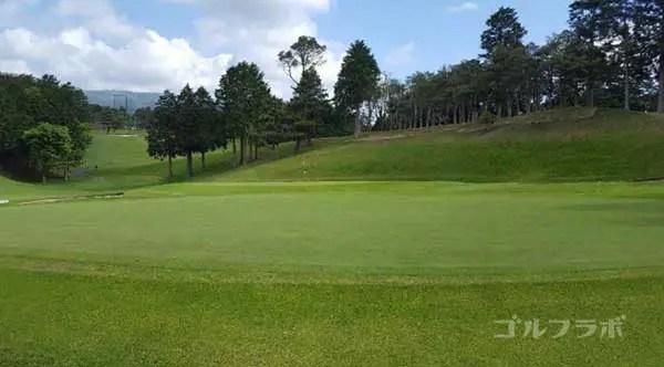 沼津ゴルフクラブの駿河5ホールのグリーン