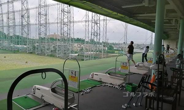 梨香台ゴルフガーデンの打席