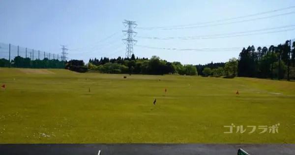ジョイバードゴルフ練習場のフィールド