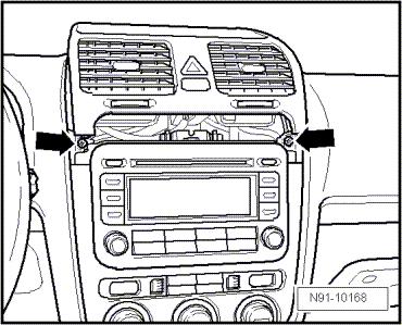 Revue Technique Automobile Volkswagen Golf 5: Autoradios