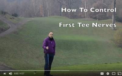Control First Tee Nerves