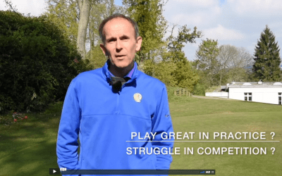 How to play well in golf competition