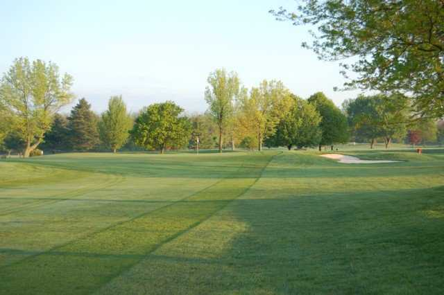 Twin Base Golf Club In Wright Patterson Afb