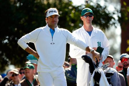 Role reversal with Bubba Watson and his caddy Ted Scott  GolfPunkHQ