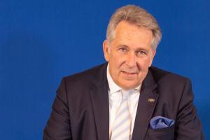 Portrait DGV-Präsident Klaus Kobold
