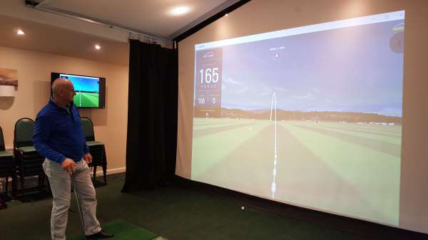 Golf Simulator Projection Screen