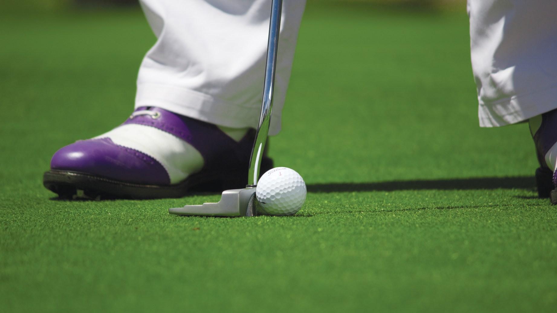 Déroulement d'une compétition de golf