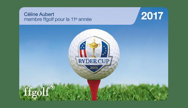 Licence golf FFG