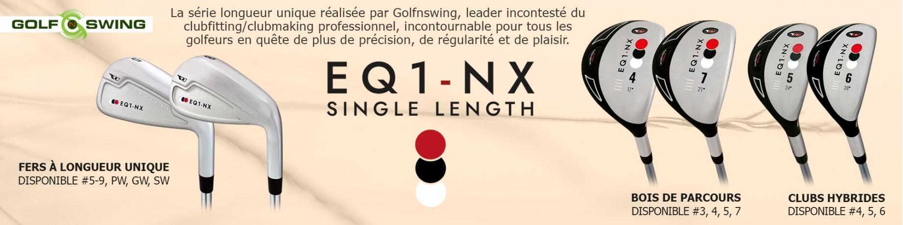 Série longueur unique GolfnSwing