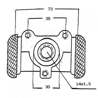 Yale Forklift Brake Cylinders