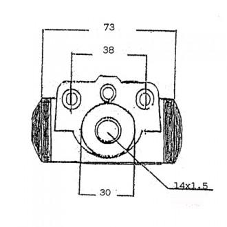 Montini Forklift Brake Cylinders
