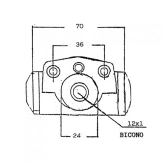 Lansing Forklift Brake Cylinders Pump