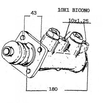 Merlo Master Brake Cylinders