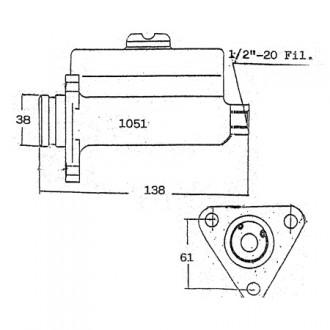Lansing Master Brake Cylinders