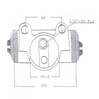 Towmotor Brake Cylinders Parts