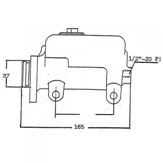 Hyster Forklift Master Cylinders
