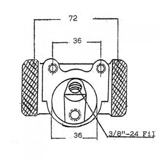 Lansing Forklift Brake Cylinders