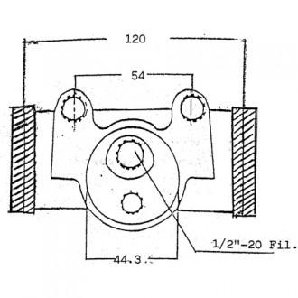 Towmotor Brake Cylinders