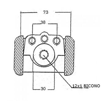 Forklift Brake Cylinder Pump S838