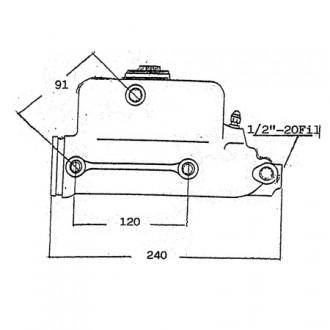 FIAT Mster Brake Cylinders