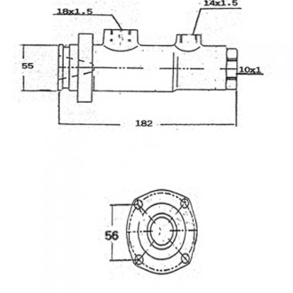 Industrial Applications Power Master Brake Cylinders