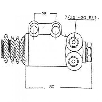 Linde Forklift Brake Cylinder