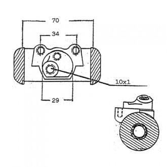 Yale Forklift Brake Cylinder Pumps