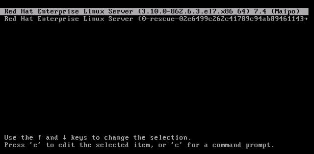 set grub2 password remove grub2 password in rhel 7