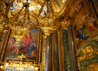 The World's Most Expensive Chapel, Lisbon