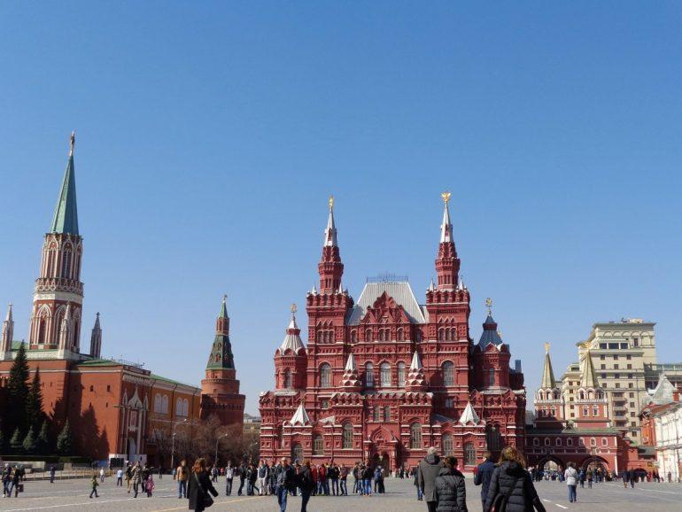Rode Plein Moskou Rusland