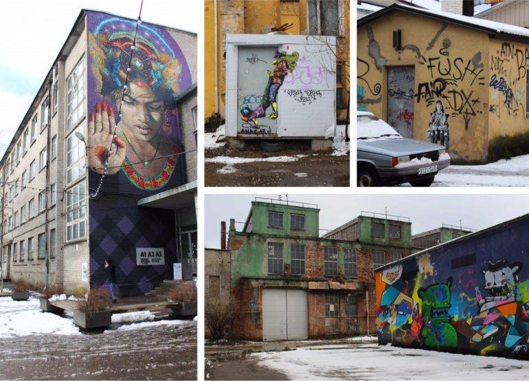 Telliskivi Tallinn street art