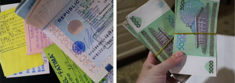 Money in reizen Oezbekistan