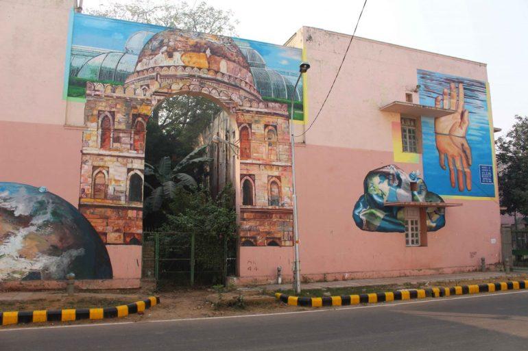 Street art Delhi Lodhi