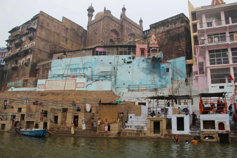 Varanasi India ghats