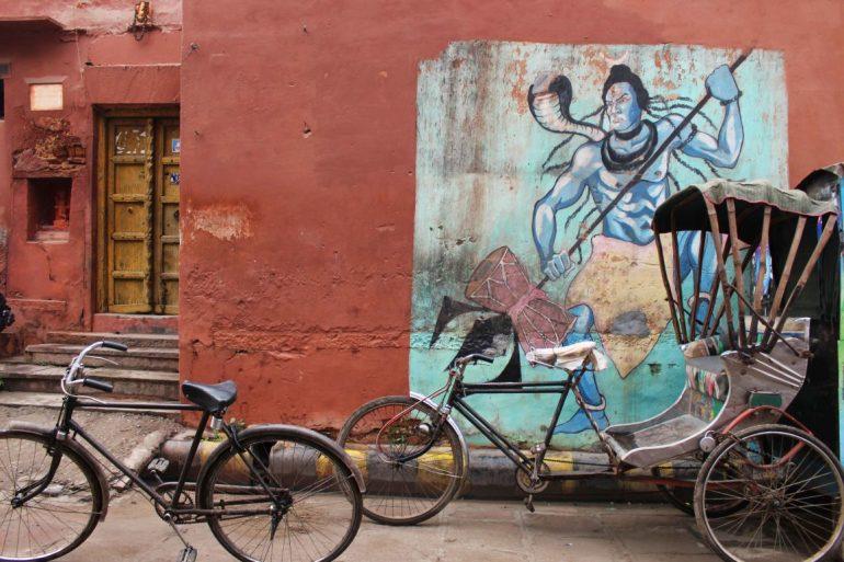 street art varanasi