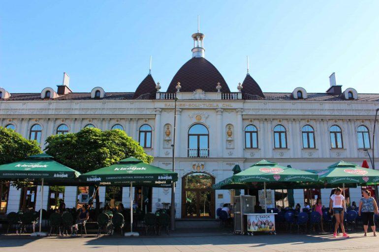 Baroque building Tuzla