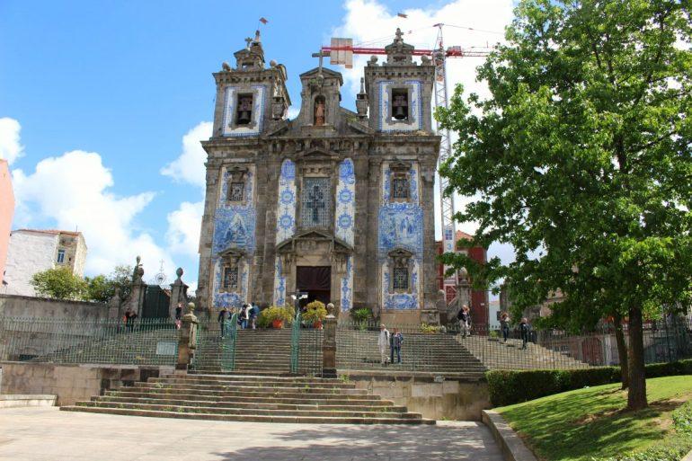 Church of Saint Illdefonso Porto