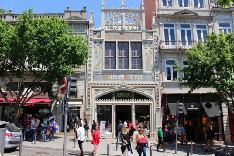 Art Nouveau Bookstore Porto
