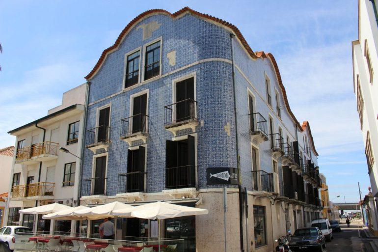 Blue house Aveiro Portugal